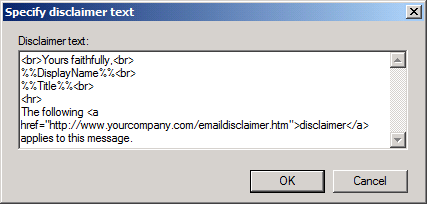 Setting up a Corporate Signature - HowTo-Outlook