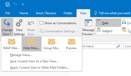 imap folders not showing in outlook 365