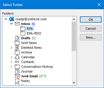 Importing eml-files into Outlook - HowTo-Outlook