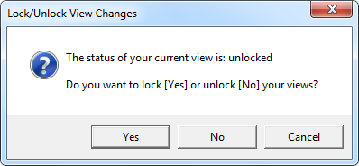 LockView macro: The status of your current view is: unlocked