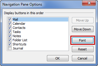 how to make the font of note bigger in powerpoint