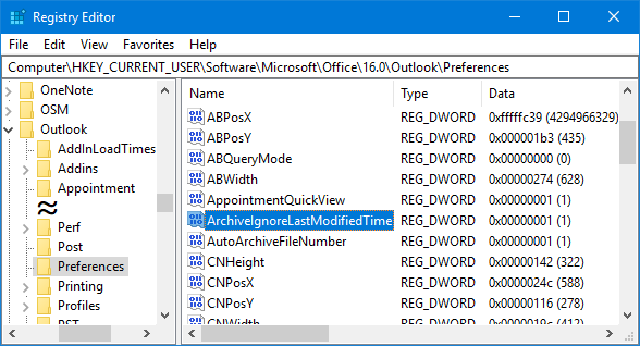 AutoArchive not Working - HowTo-Outlook