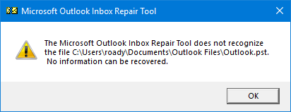 Using the Inbox Repair Tool (scanpst exe) - HowTo-Outlook