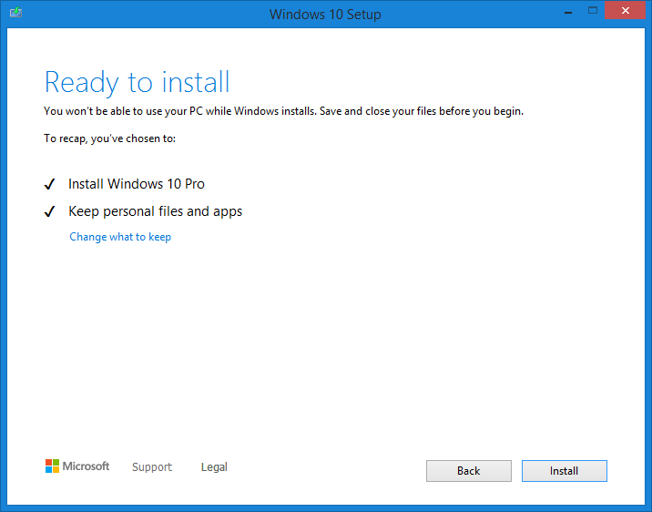 update from windows vista to windows 10 free